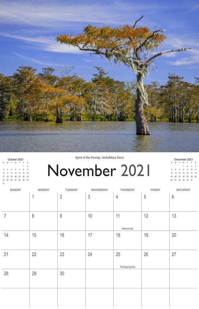 2021 Bayou Paradise November