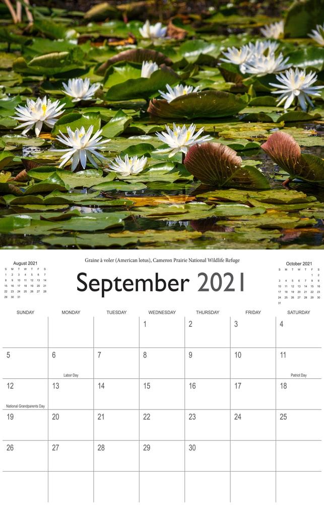 2021 Bayou Paradise September