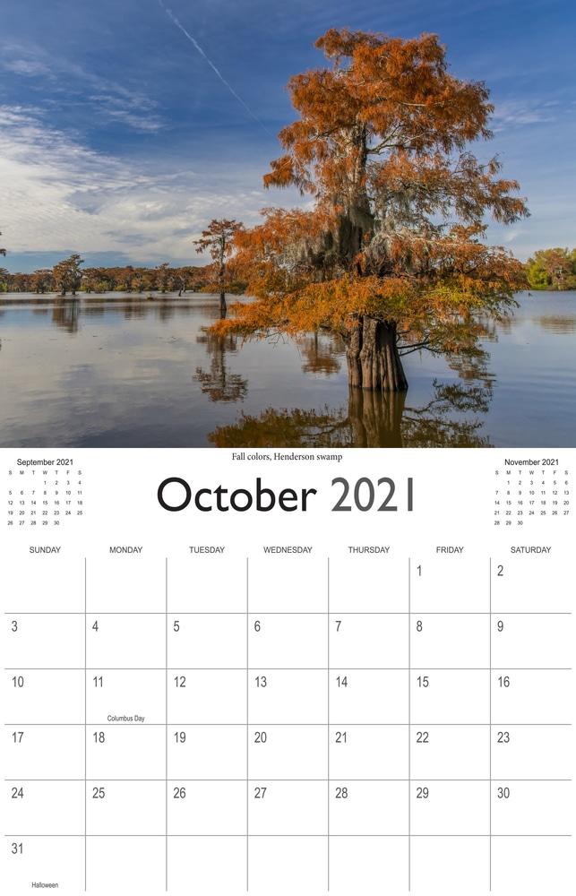 2021 Bayou Paradise October