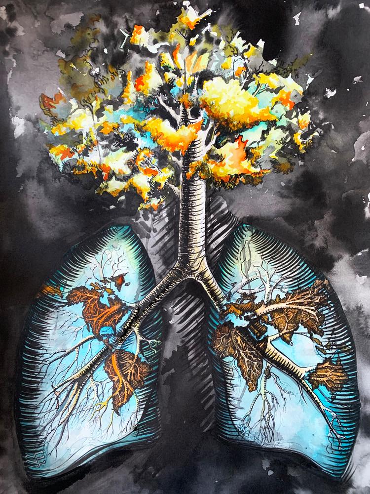 LungsTreeBlack