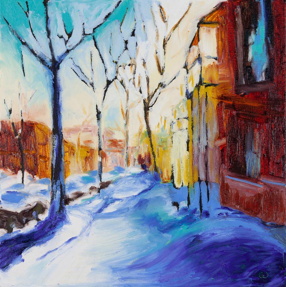 Snow Day in Saint Henri original sandra boorne