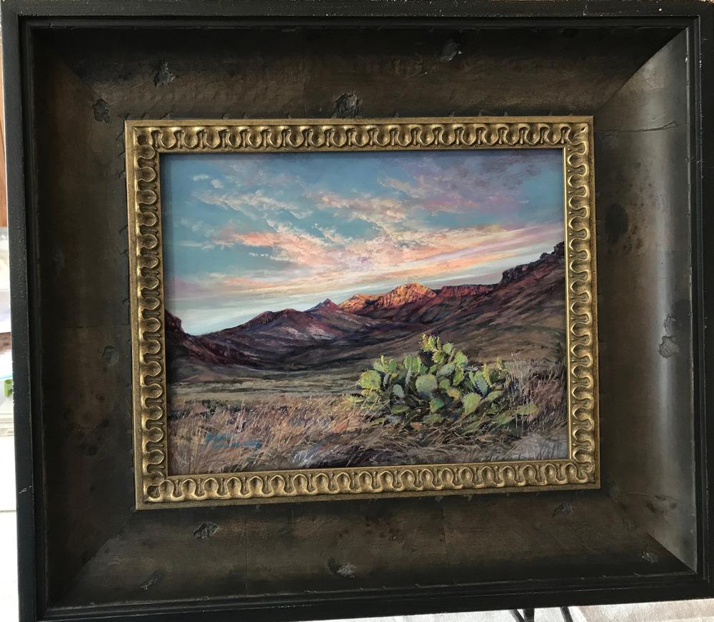 "Beginnings 11"" x 14"" pastel Lindy Cook Severns"