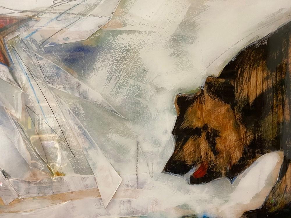 Calif Bear flag detail 3 Acosta