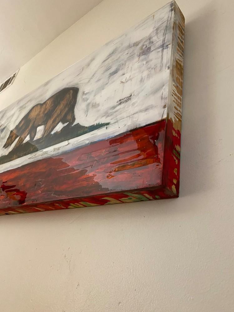 Calif Bear flag detail 6 Acosta