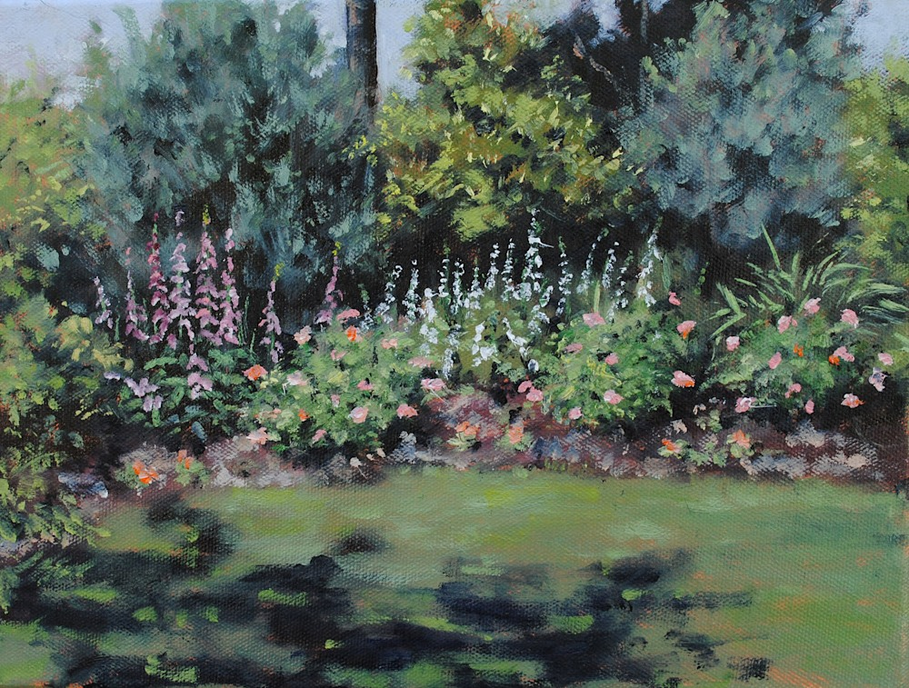 Brookgreen Foxgloves and Roses