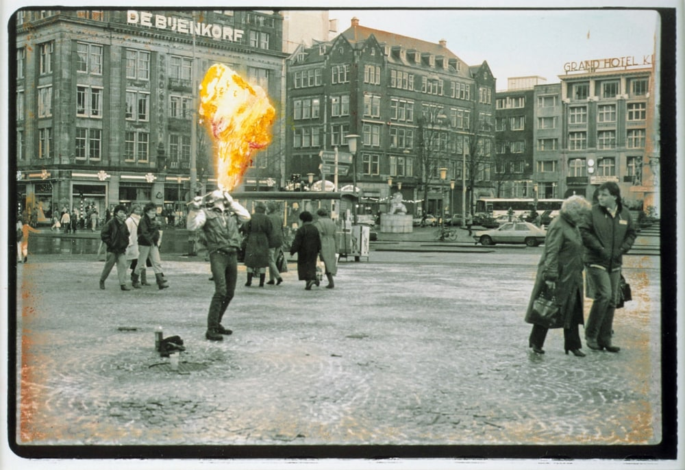 Dam Square Fire Eater