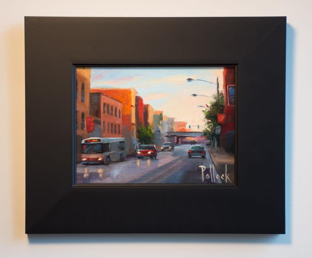 chicago morning framed 01