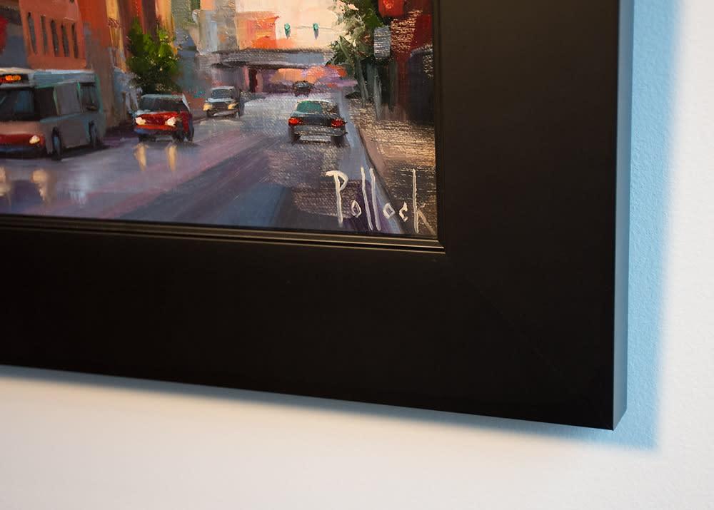 chicago morning framed 02