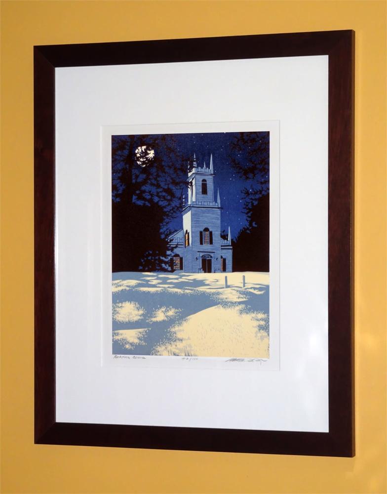 Guilford Night Framed