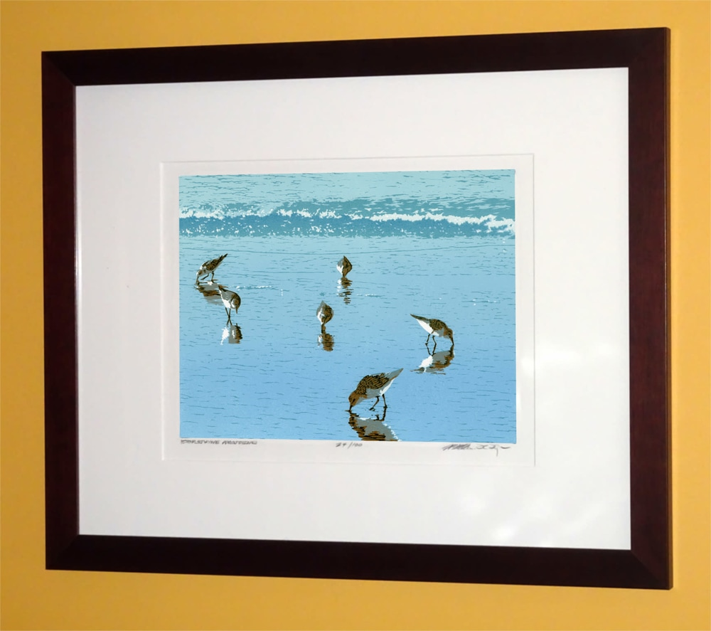 Patricia's Pipers Framed