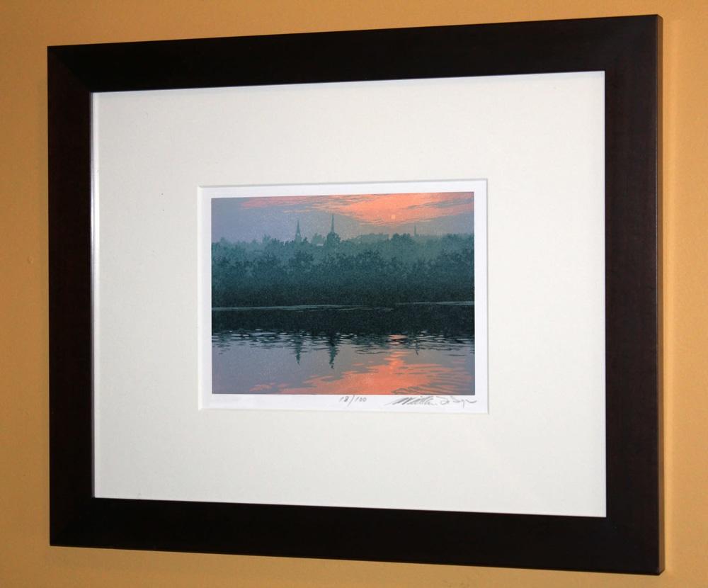 Sultry Evening Framed