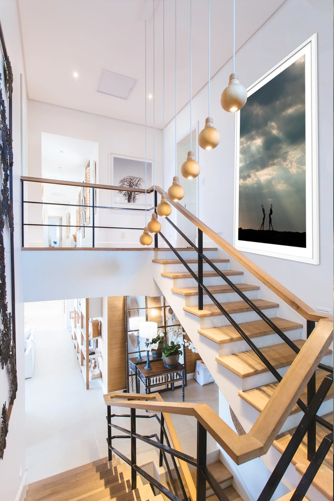 Dance Of Expansion 48x72 stairway