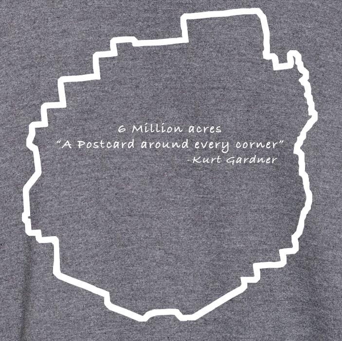 Darker heather sweatshirt Postcard1