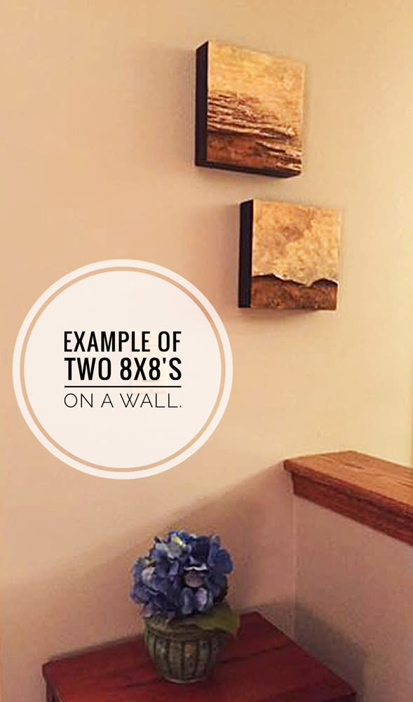 Sample two 8x8 on wall sm