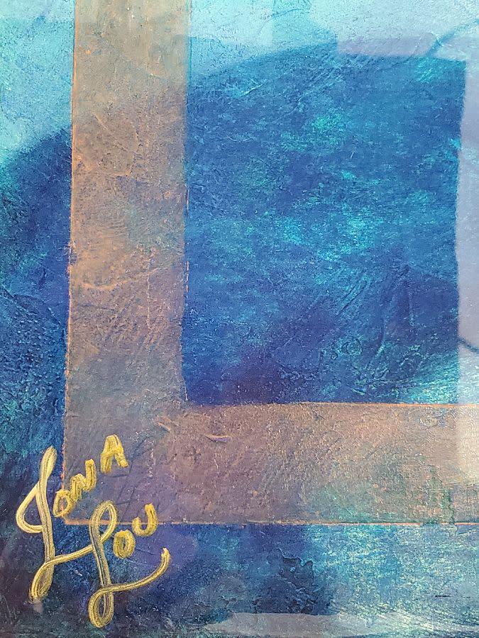 product 4 Jona Batt Paradise in Turquoise