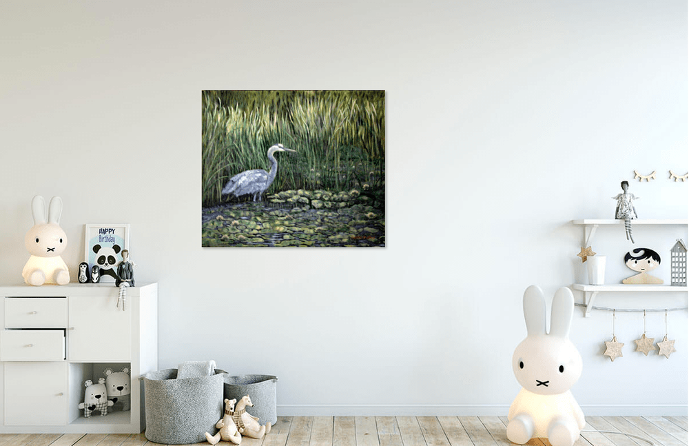 Heron in Childs Room