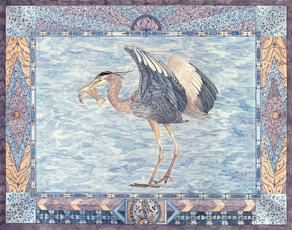 heron withfish HDA