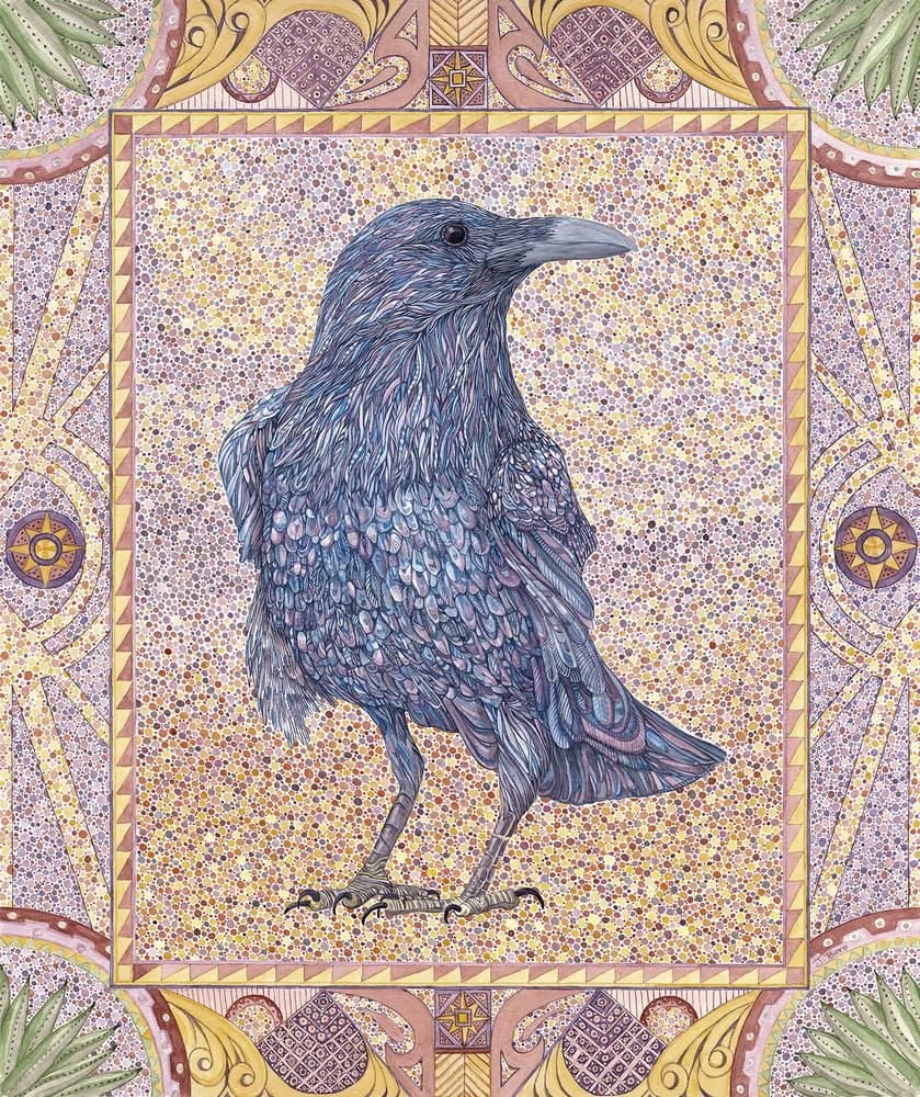 Raven Standing300