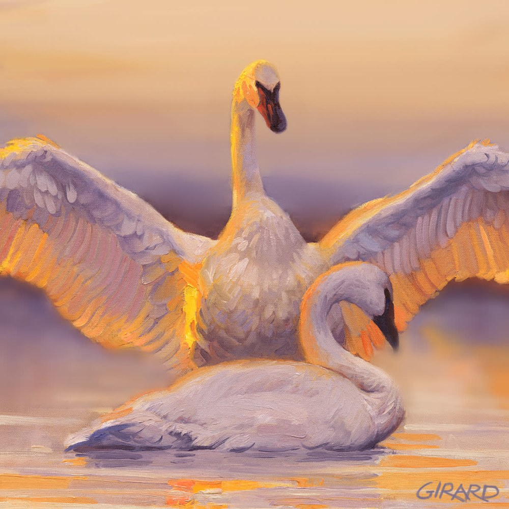 awakening bird block