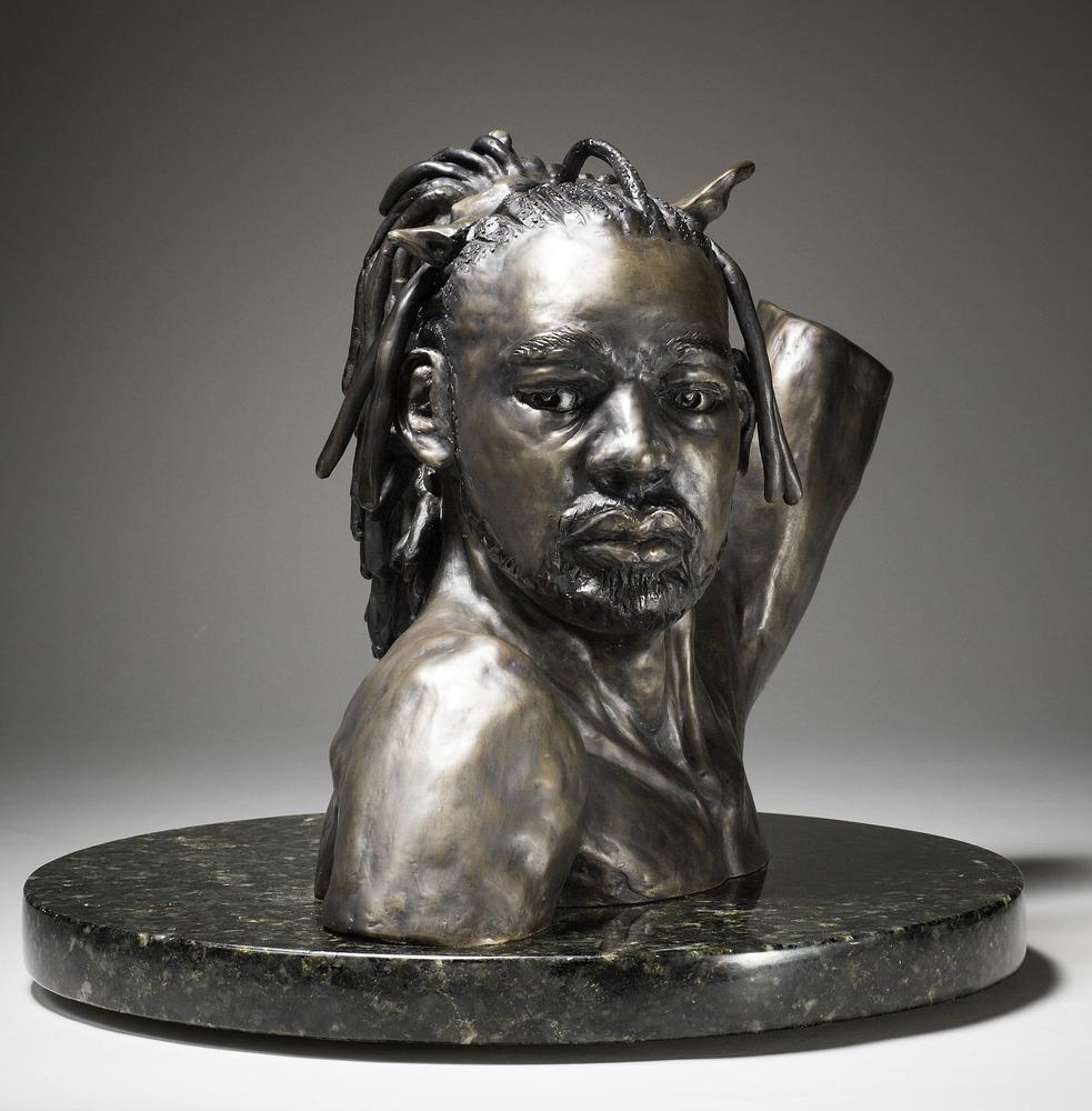 Danseur Royal - Cast Bronze Sculpture of a Black Male Dancer