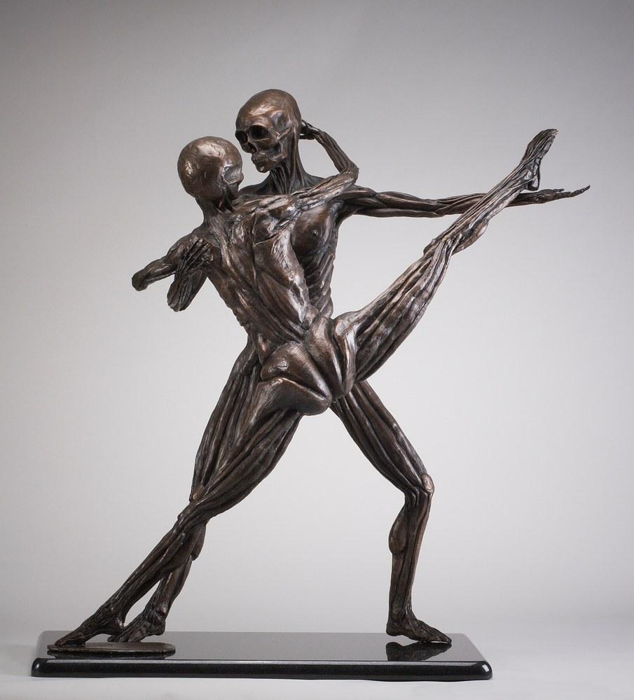 Soul Dance - Cast Bronze Anatomical Study by Eduardo Gomez 2