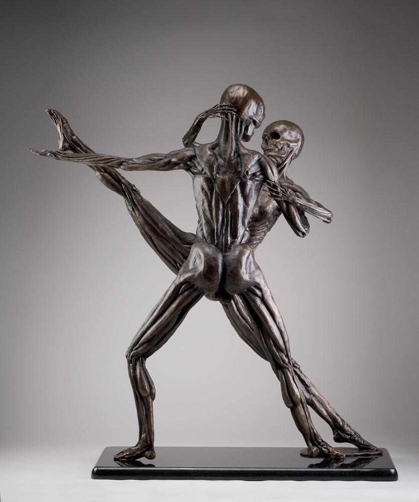 Soul Dance - Cast Bronze Anatomical Study by Eduardo Gomez 1
