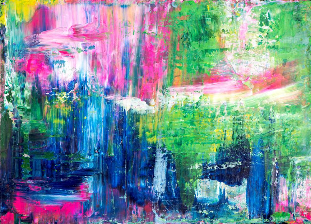 Eadaoin Glynn 2020, a walking journey 7, acrylic on canvas, 26x36cm HiRes