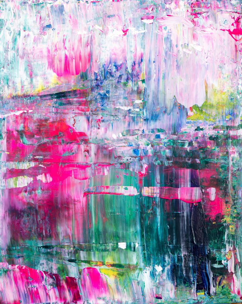Eadaoin Glynn 2020, A walking journey 3, 51x41cm, acrylic on canvas HiRes