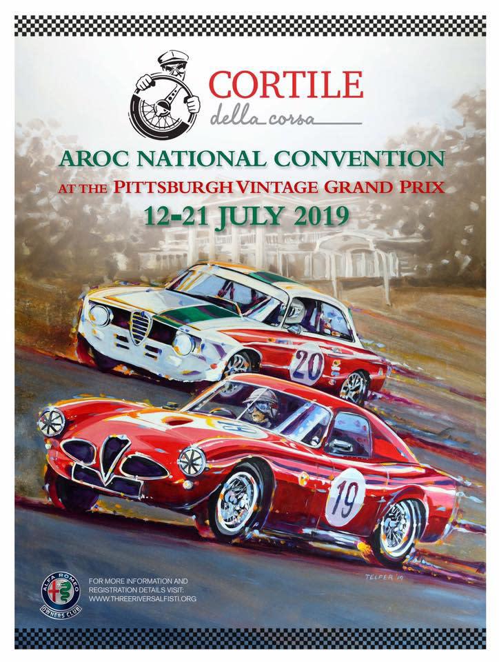 Telfer Pittsburgh Vintage GP Poster