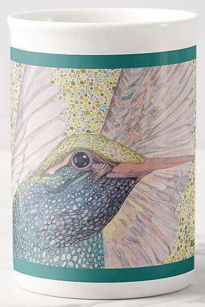 hummingbird wings LG TEAL
