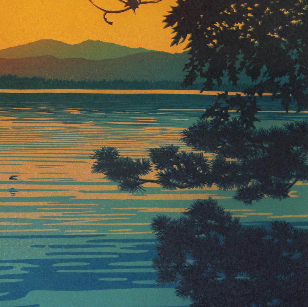 Skimming The Sunset Detail 2