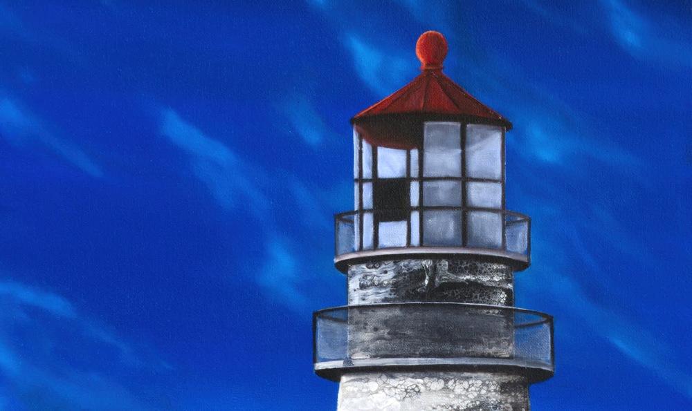 Evening Lighthouse Detail A