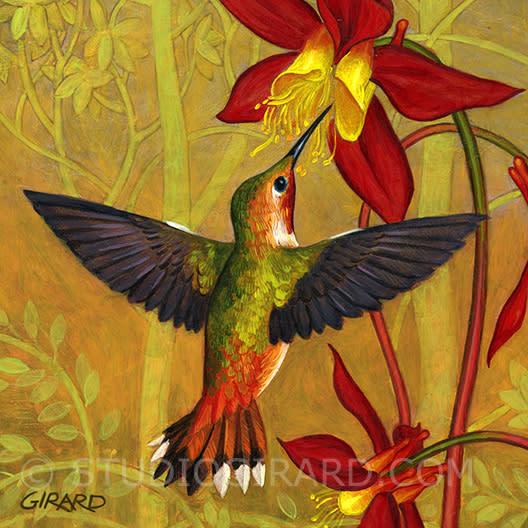 Studio Girard Hummingbird 1 35 x35