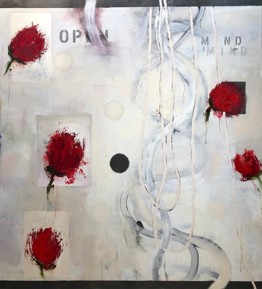 Open Mind, oil on canvas, 66x60