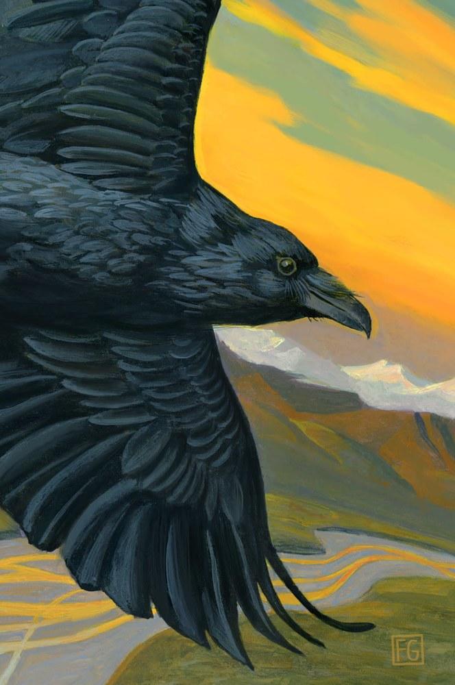 Raven Wanderer 35 x 525 #3 FOR PRINT