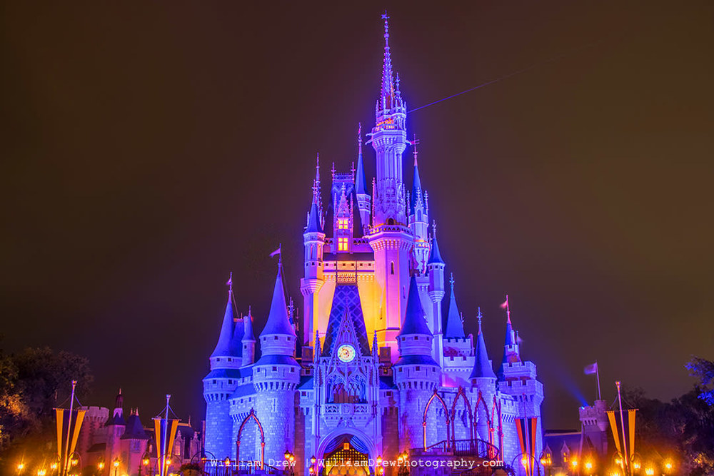 Cinderella's Castle at Night 1 sm