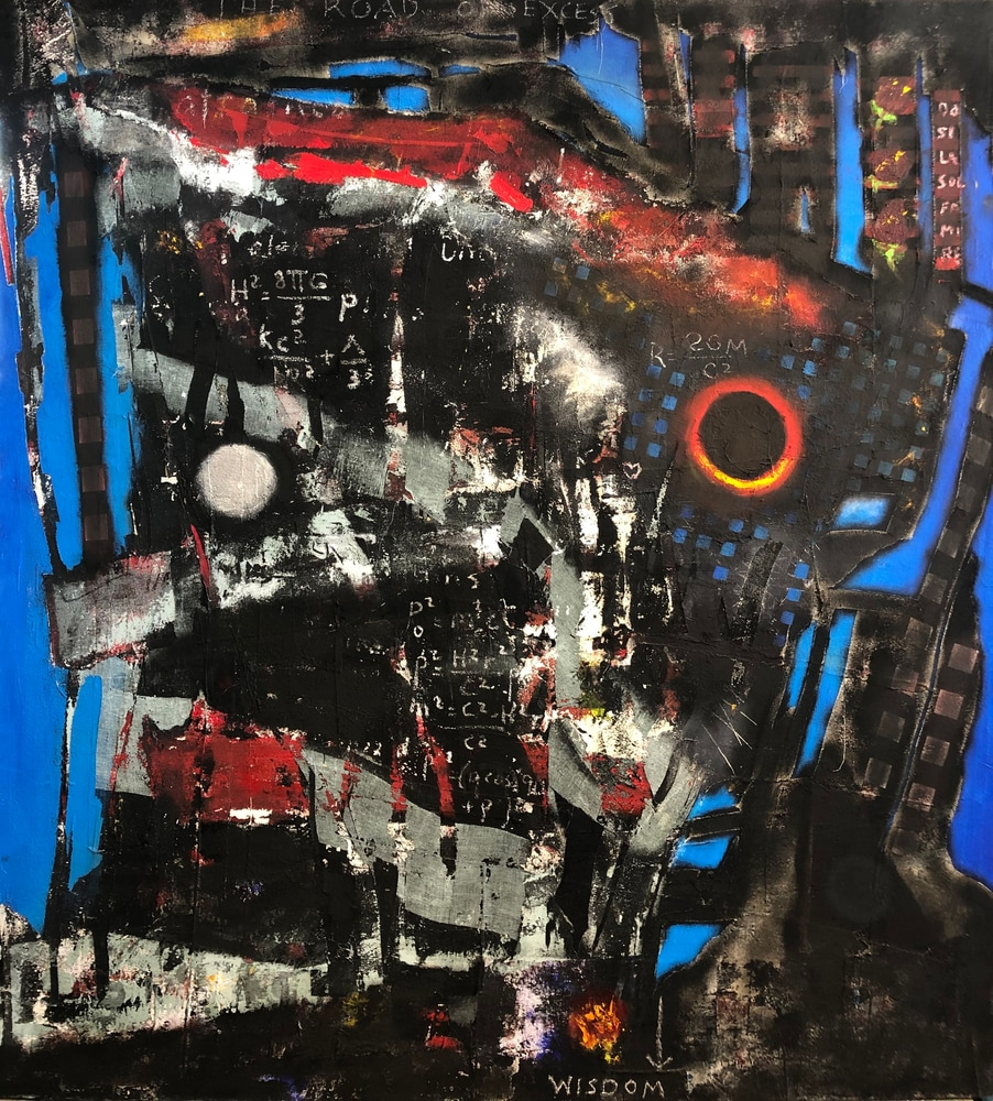 The Road of Excess oil gauze canvas 6660