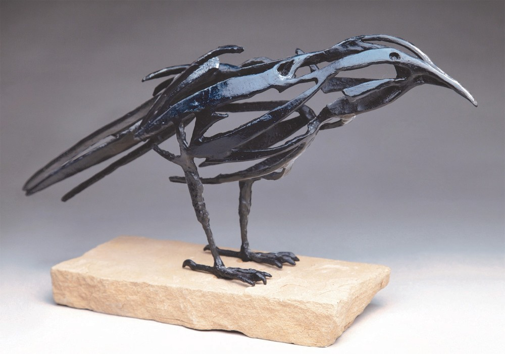 small raven different base
