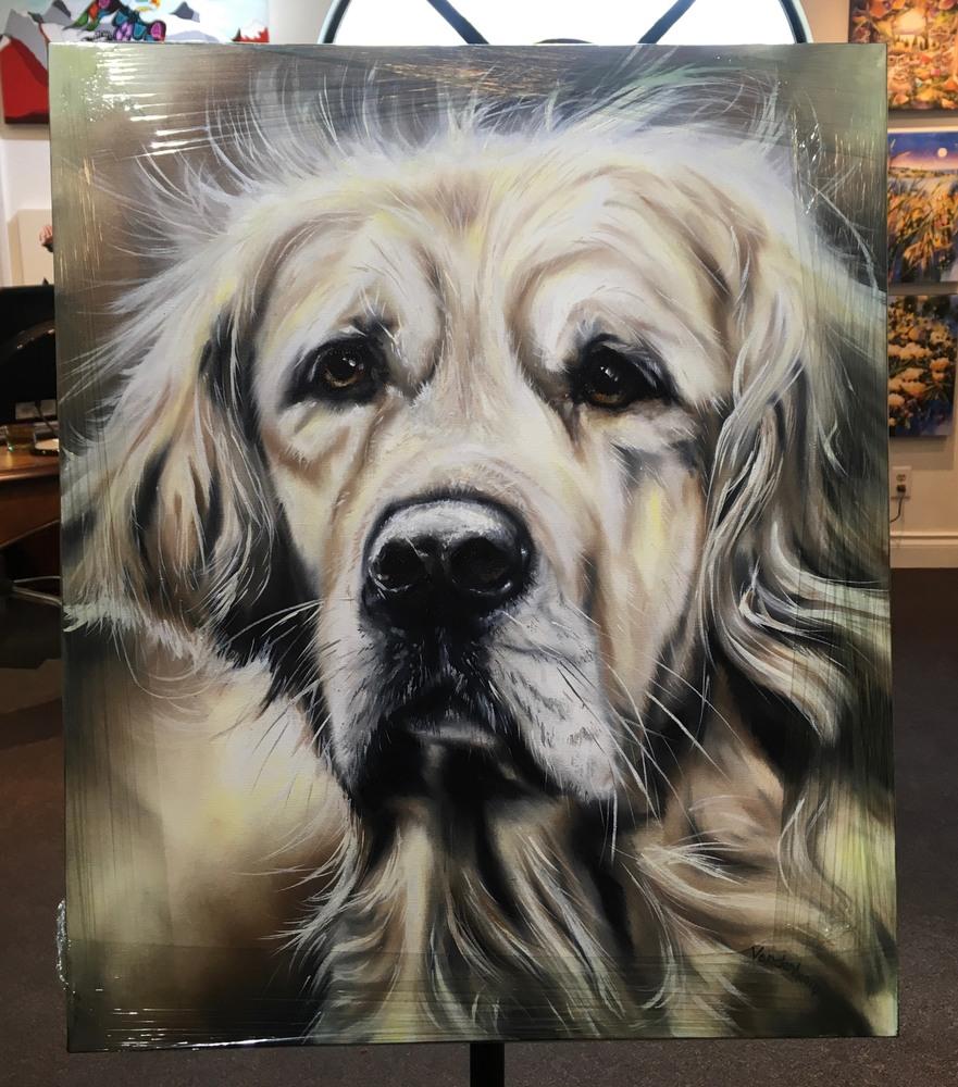 bobby vandenhoorn commission pet portrait toby