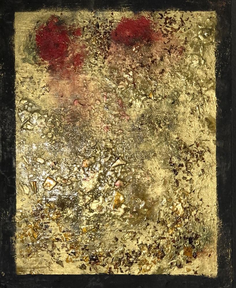 Golden Roses 2 14x11