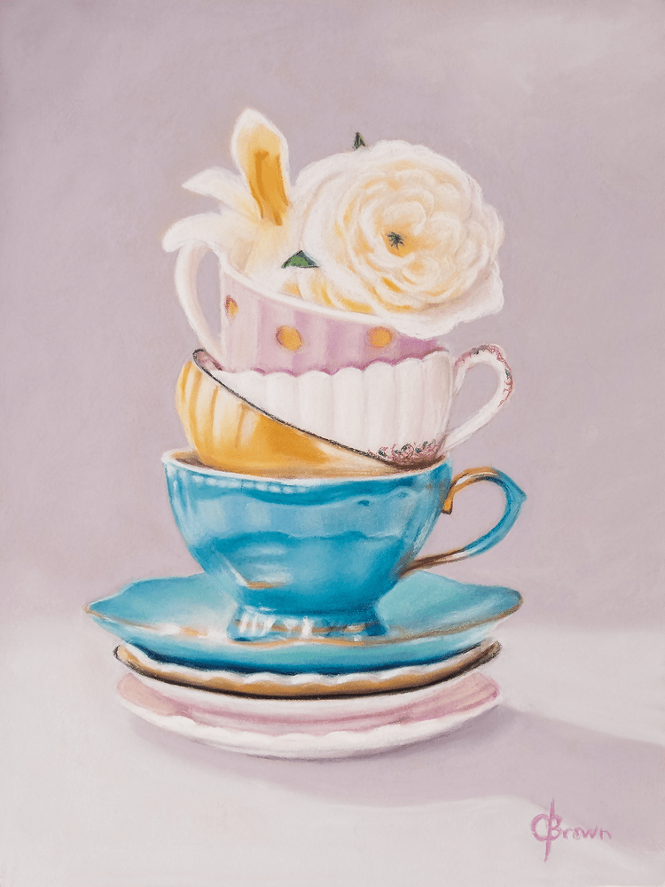 AfternoonTea PRINT 12x16INCH