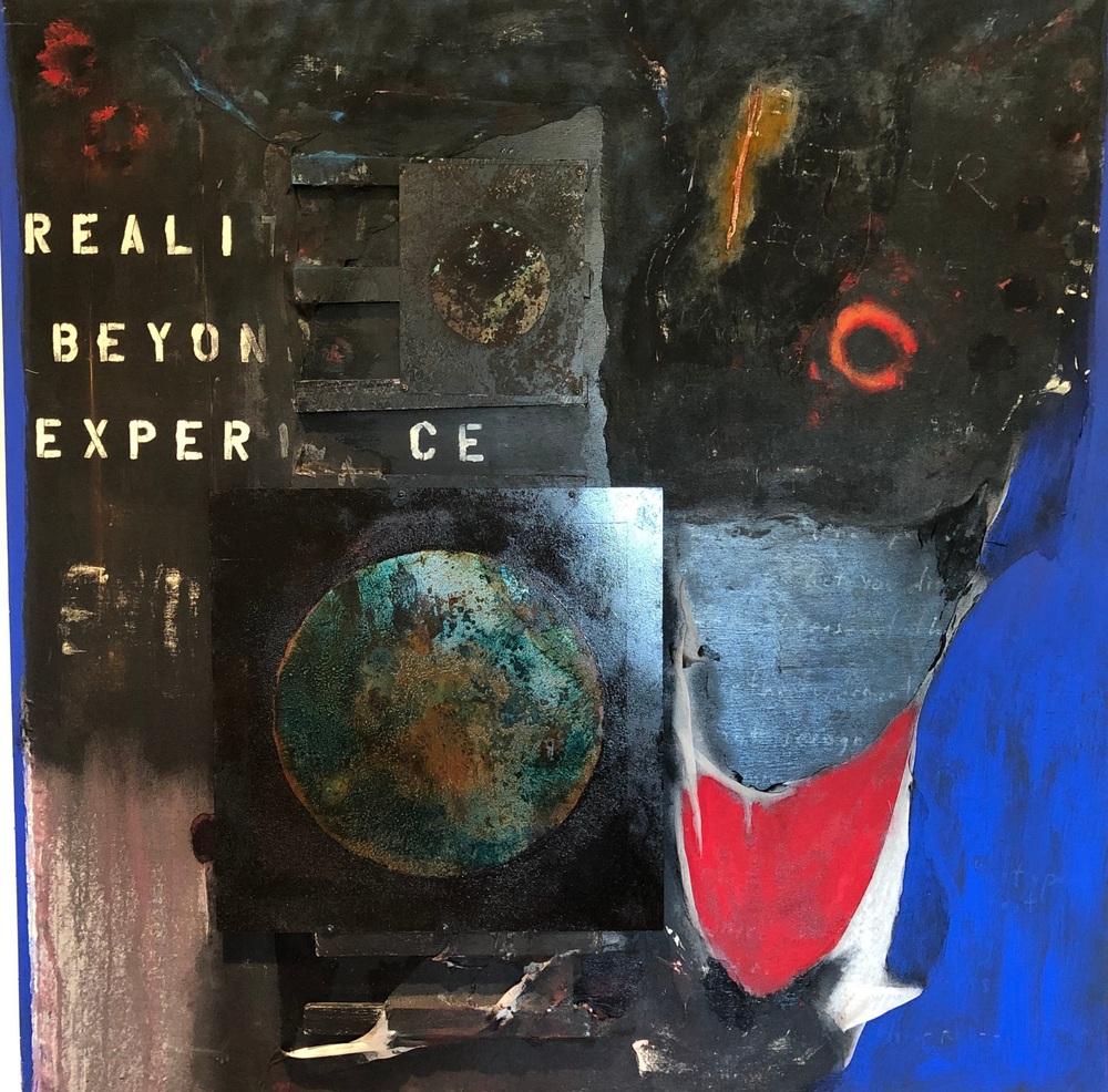Reality is Beyond Experience, mm on wood, 60x60