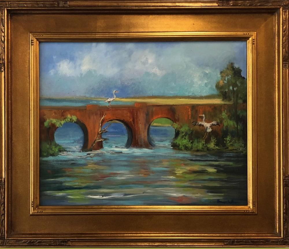 old railraod bridge