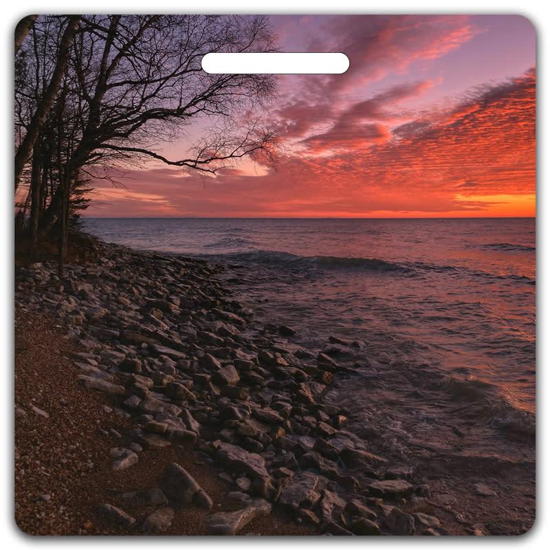 November Sunrise Bag Tag