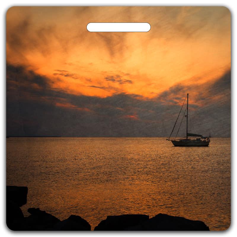 Sunset Serenity Bag Tag