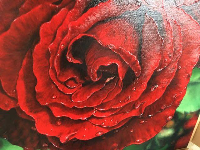 Red Rose Embelished2