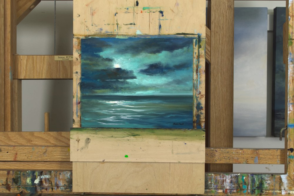 4606 on large easel