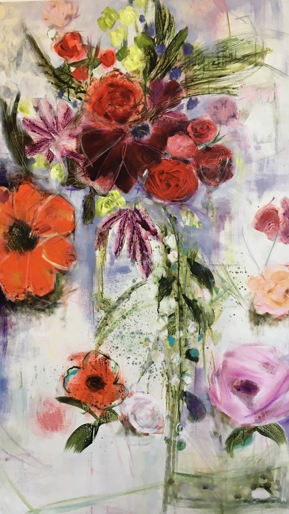 Once upon a flower 60X36