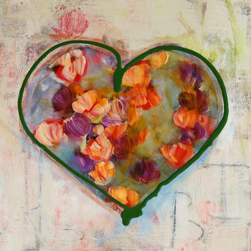 2020 12X12 fleurs dans coeur