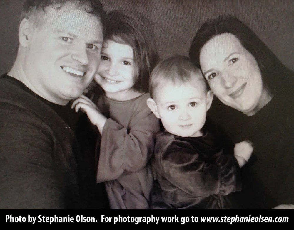 KirbyRogers family photo with website